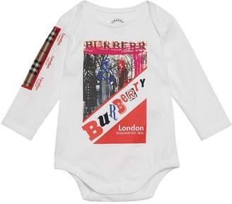 Burberry Cotton Three-piece Baby Gift Set