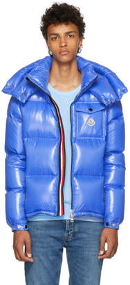 Moncler Blue Montebelliard Down Jacket