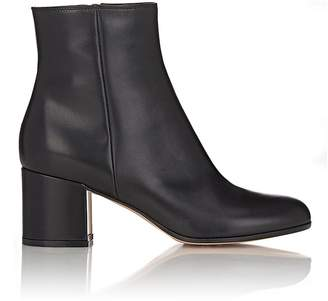 Gianvito Rossi Women's Leather Side-Zip Ankle Boots