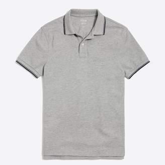 J.Crew Factory Slim tipped piqué polo shirt