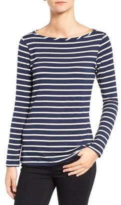 Women's Amour Vert Francoise Stripe Top $88 thestylecure.com