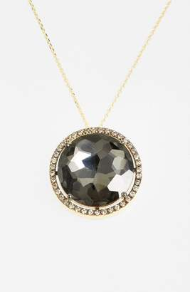 Suzanne Kalan Diamond & Stone Pendant Necklace