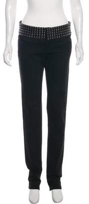 Gucci Embellished Straight-Leg Jeans