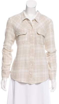 McGuire Denim Button-Up Long Sleeve Top
