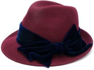 CA4LA side bow embellished hat