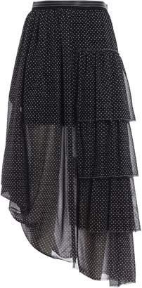Loewe Midi Ruffle Skirt