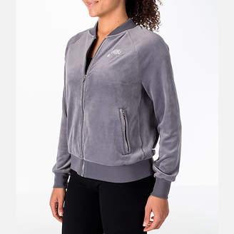 Nike Women's Sportswear Velour Jacket