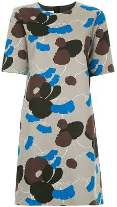 Marni floral print shift dress