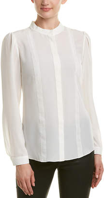 Reiss Maly Lace Silk Blouse