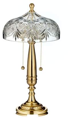 Waterford Renmore Lead Crystal Table Lamp