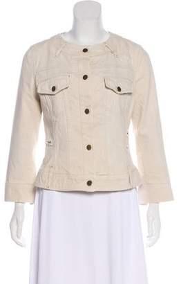 Dolce & Gabbana Button-Up Denim Jacket