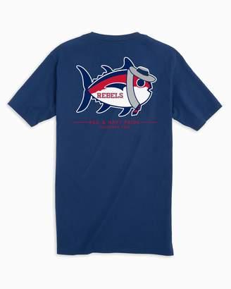 Southern Tide Mascot Skipjack T-shirt - University of Mississippi