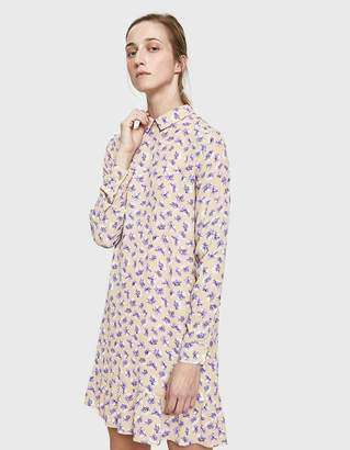 Ganni Montrose Crepe Dress