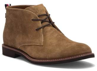 de4c8b5cfd6303 Tommy Hilfiger Gervis Suede Lace-Up Boot