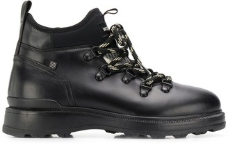 Woolrich leather ankle boots