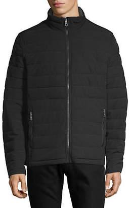 Nautica Reversible Stretch Puffer Jacket