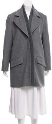 Thakoon Wool Notch-Lapel Coat