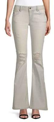 Miss Me Distressed Flare Jeans