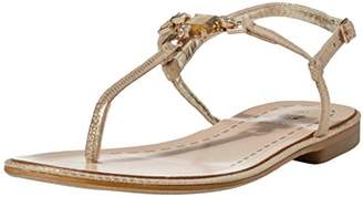 G.C. Shoes Women's Princess Cut Sandal 9 M