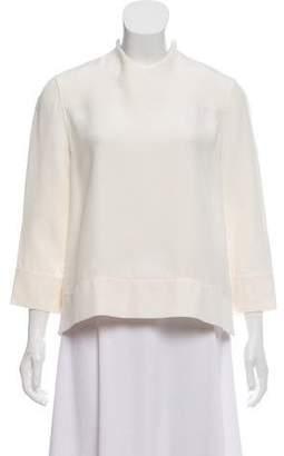 be0386c01dfa4 Celine White Women s Longsleeve Tops - ShopStyle