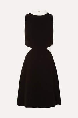 Rachel Zoe Constance Cutout Crepe Mini Dress - Black