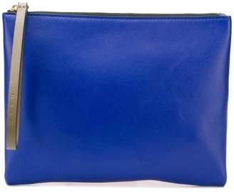 Marni two tone clutch bag