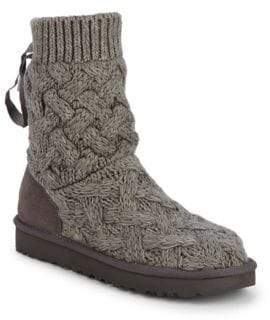 ... UGG Isla Knit Sweater Boots