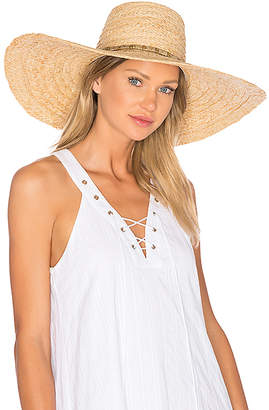 ale by alessandra Palapa Hat in Tan. $73 thestylecure.com