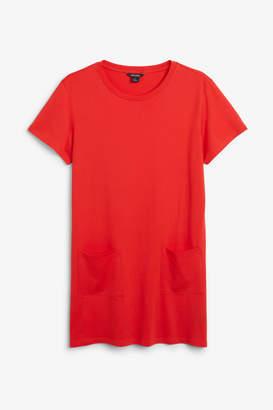 Monki Soft t-shirt dress