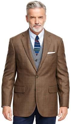 Brooks Brothers Madison Fit Multi Plaid Sport Coat