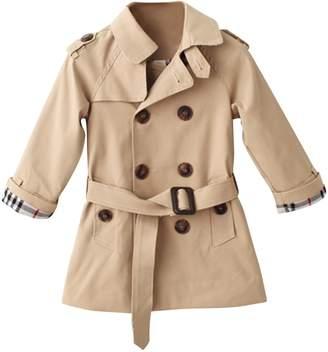 Lee Evelin Baby Girls Windbreaker Trench Coat Spring Autumn Outwear Jacket