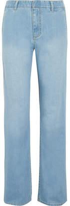 Tibi High-rise Jeans - Light denim