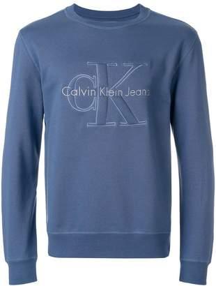 Calvin Klein Jeans light blue sweatshirt