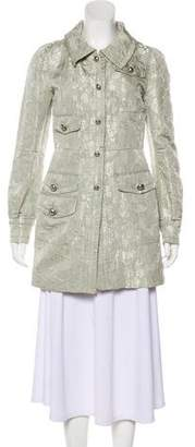 Marc Jacobs Short Brocade Coat