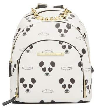 Betsey Johnson Triple Compartment Backpack