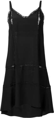 Semi-Couture Semicouture high-low dress