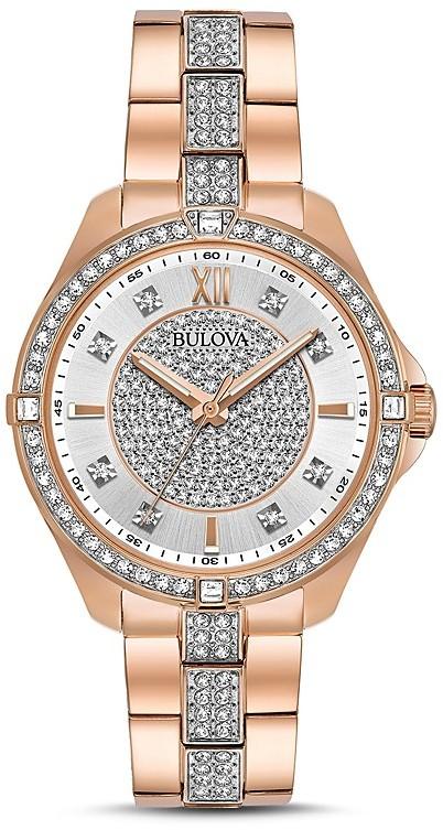 BulovaBulova Crystal Watch, 35mm