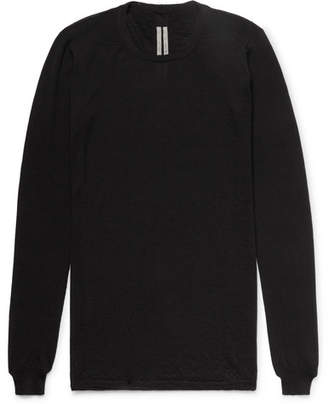 Rick Owens Slim-Fit Virgin Wool Sweater