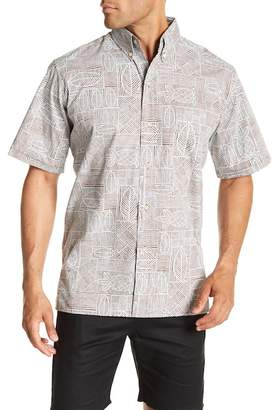 Reyn Spooner Pine Place Printed Classic Fit Shirt