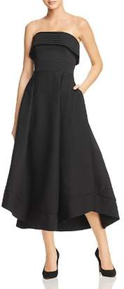 C/Meo Collective Visceral Strapless Gown