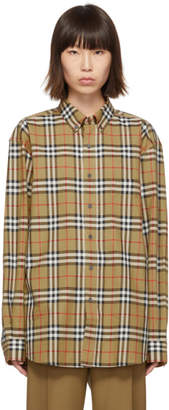 Burberry Beige Vintage Check Jameson Shirt