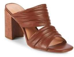 Halston Kiera Leather Sandals