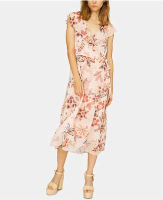Sanctuary Jolynn Wrap Floral-Print Dress