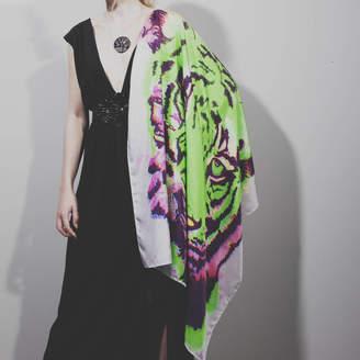 Wildcard Silks Tiger Silk Scarf