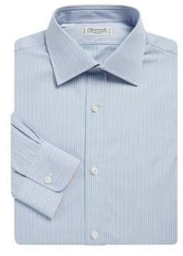 Charvet Regular-Fit Striped Poplin Dress Shirt