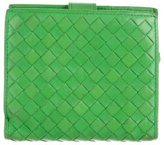 Bottega VenetaBottega Veneta Intrecciato Compact Wallet