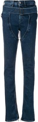 Diesel Red Tag buckle-detail skinny jeans