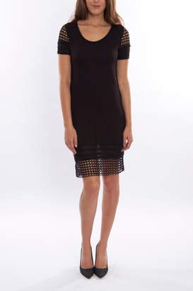 Pete Black Fitted Dress