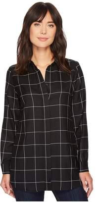 Pendleton Cassandra Plaid Shirt Women's Long Sleeve Button Up