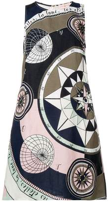 Tory Burch Cosmic print mini dress